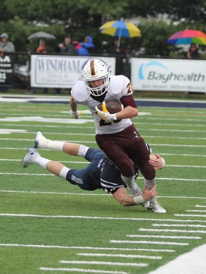 Salisbury's Brady Curley had five kickoff returns for 118 yards including one for 46.