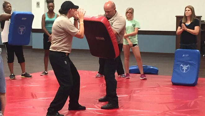 A women's self defense training class is being offered.