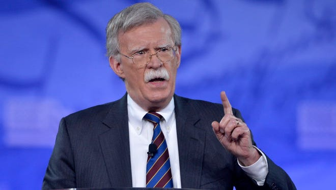John Bolton is a former U.S. ambassador to the U.N.