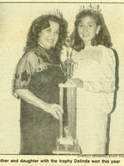 Abbie Piña and daughter Delinda Muñiz after she was