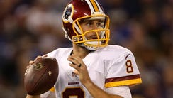 Kirk Cousins has been named the starter for the 2015
