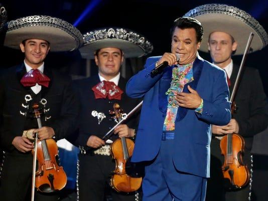 AP MEXICO JUAN GABRIEL OBIT I FILE ENT OBIT USA FL
