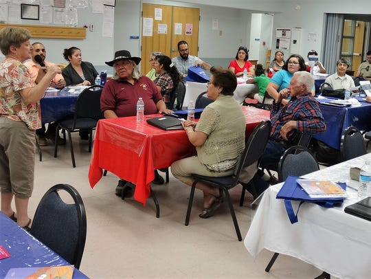 bout 30 residents attended the Chaparral Parents in