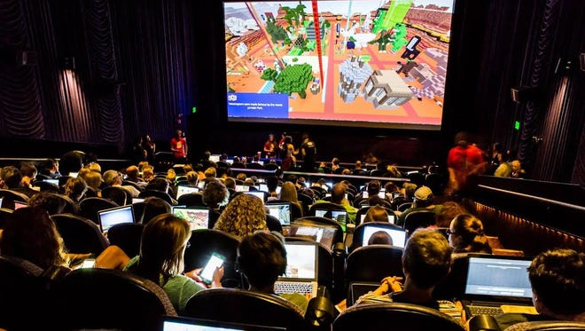 Participants can join a league to be part of the Minecraft Championship at City Center 15: Cinema de Lux in White Plains.
