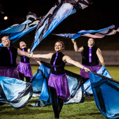 Central competes in the Spirit of Sound band competition