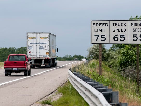 Speed limits on Interstate 69 have been raised to 75