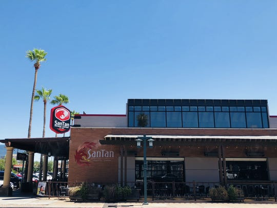 The exterior of SanTan Brewing Co. in downtown Chandler.