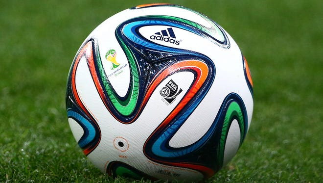 A soccer player from Croatia died shortly after being hit by a ball.