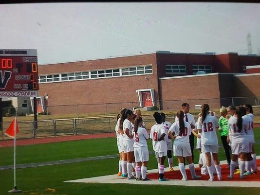 Woodbridge High School girls soccer