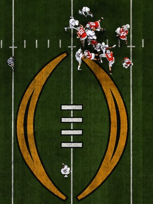 The College Football Playoff may have to fend with a scheduling conflict created by the NFL.