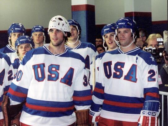 Michael Mantenuto (back right, in helmet) played Jack
