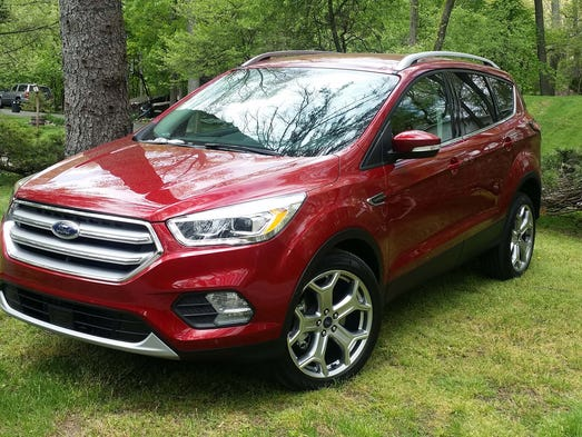 The Ford Escape sets the standard for the small SUV