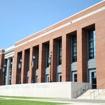 The new business building, Scianna Hall will hold classes this fall for Southern Miss students.