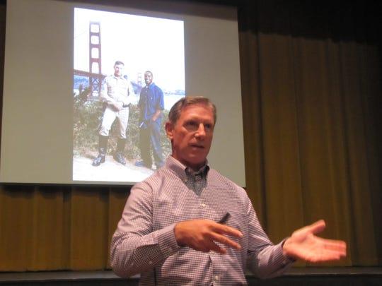 As a California Highway Patrol officer, Kevin Briggs