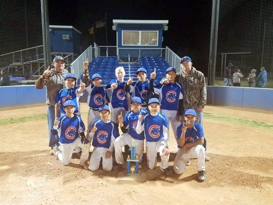 The Cubs won last Saturday's National Little League