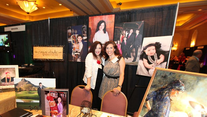 Tina Celle (left) and Melissa Mulera produce the Mitzvahs & More Expo.