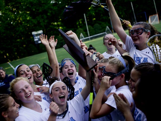 Girls lacrosse sectional final, North 1, Group 3 championship.