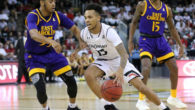 Cane Broome gave the Cincinnati Bearcats a spark Saturday with seven points, six assists and no turnovers in an 86-60 win over East Carolina.