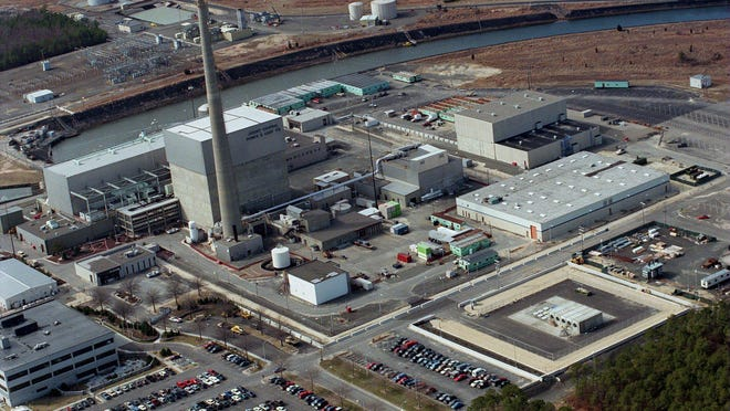 The Oyster Creek nuclear power plant in Lacey is scheduled to go offline in 2019.