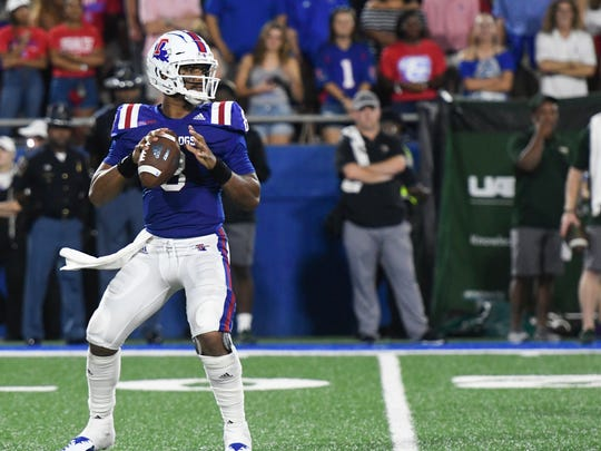 Louisiana Tech quarterback J'Mar Smith will lead his team against UTEP on Saturday.