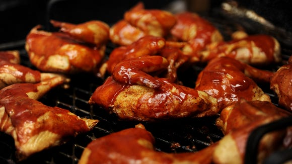 For just $5, you can sample and judge barbecue at the