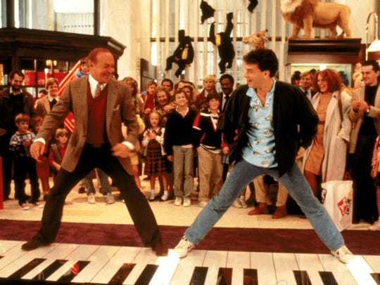 Tom Hanks, right, scored a best actor Oscar nomination
