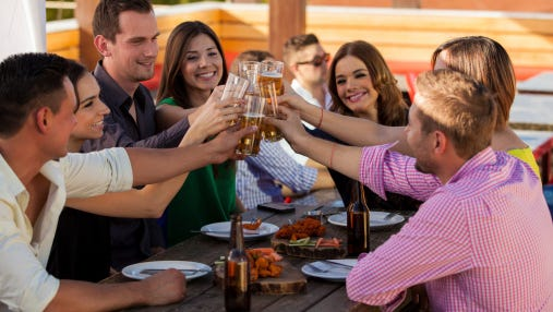 Nearly all of the countries with the highest levels of alcohol consumption are located in Eastern Europe.
