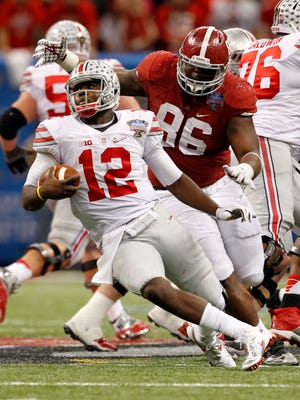 Ohio State was 10-0 with Cardale Jones at quarterback.