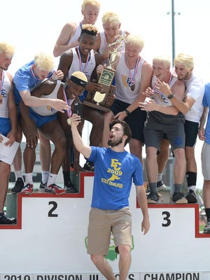 East Canton wins its third straight state team title at the OHSAA Division III State Track & Field Championships at The Ohio State University, June 1, 2019.