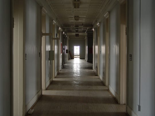 This ward at the former Binghamton State Hospital housed
