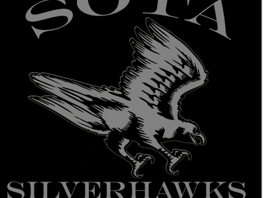 School of the Arts Silverhawks logo