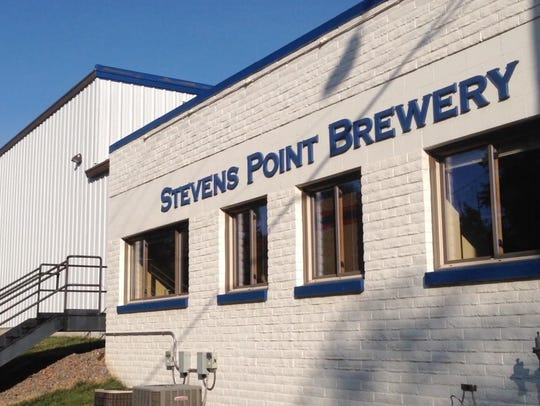 Steven's Point Brewery is one of the many breweries