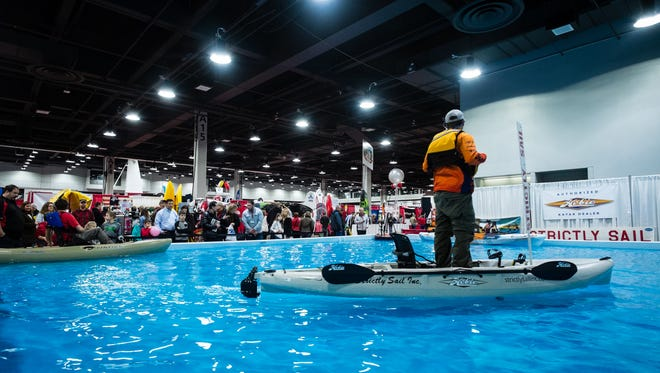 Cincinnati Travel, Sports and Boat Show at the Duke Energy Convention Center