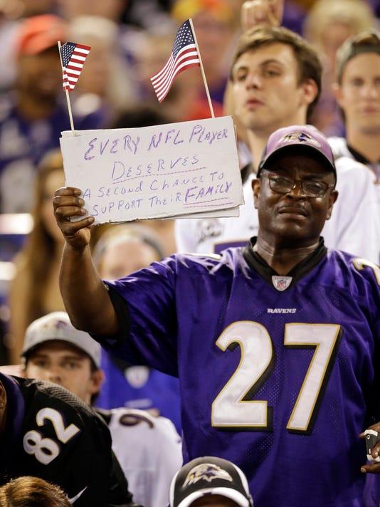 ddfa9dcddf7 Steelers Ravens Football (8). A Baltimore Ravens fan ...
