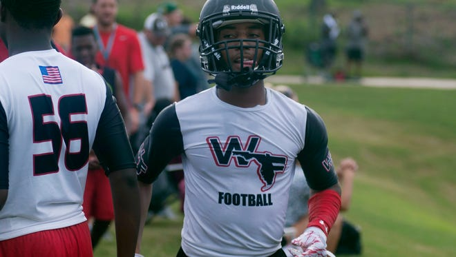 West Florida High defensive back Amir McDaniel leads the area with five interceptions.