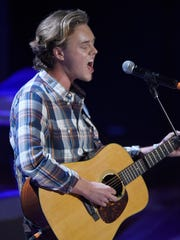 Parker Millsap performs at the 2016 Americana Music Honors and Awards Show at Ryman Auditorium Wednesday, Sept. 21, 2016, in Nashville, Tenn.