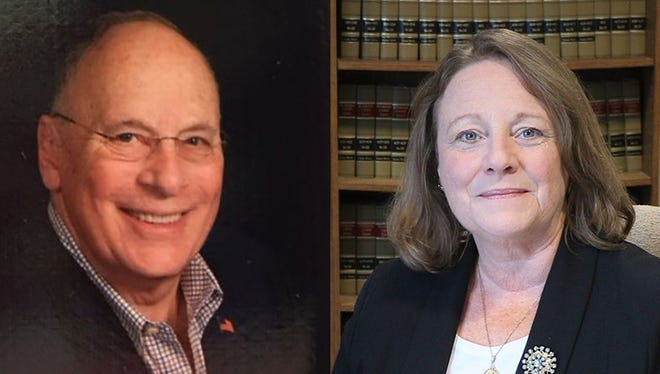 Left: Don Berry, Right: Crystal Kinzel.