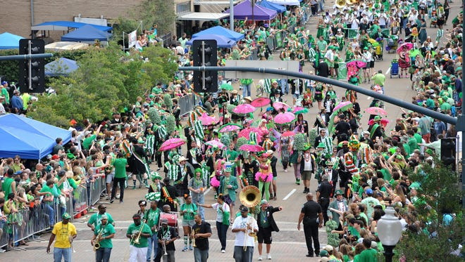 Hal's St. Paddy's Parade rolls on Saturday.