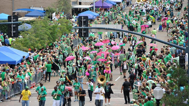 Hal's St. Paddy's Parade is March 18 in downtown Jackson.