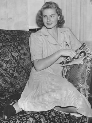 This photo, dated Sept. 17, 1941, shows Ingrid Bergman when she was living in Rochester.