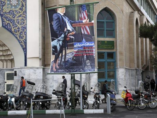 iran banners
