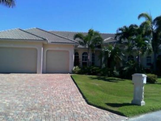 This home at 2803 SW 38th Terrace, Cape Coral, sold