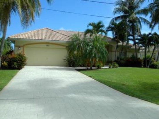 This home at 1529 SW 54th Terrace, Cape Coral, recently