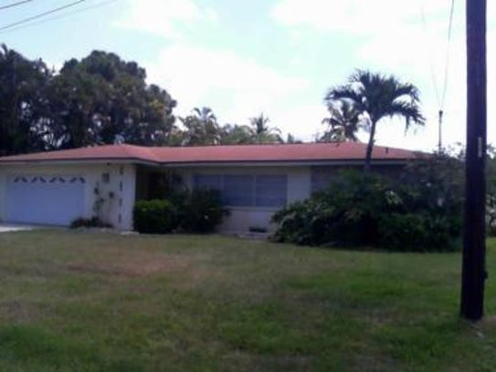 This home at 5717 Riverside Drive, Cape Coral, recently