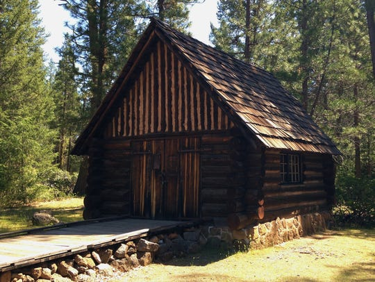 A 1930s cabin built by Civilian Conservation Corps