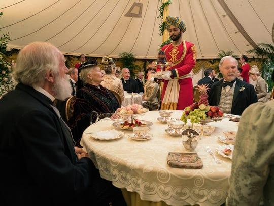 Lord Salisbury (Michael Gambon, from left), Queen Victoria