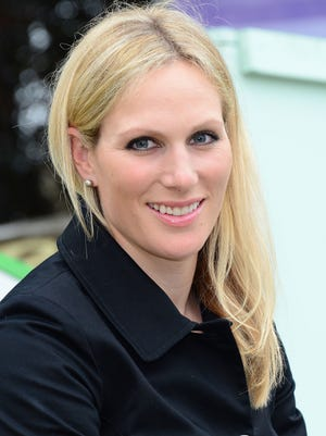 Zara Phillips Tindall in May 2013. She's a godparent to baby Prince George.