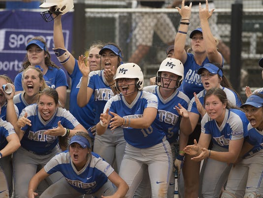 MTSU softball uab conference USA