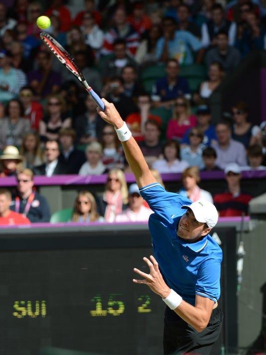 Olympics: Tennis-Men's Singles Quarterfinals