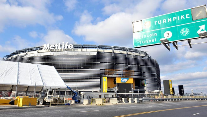 Temperatures at MetLife Stadium for Super Bowl XLVIII are expected to be in the 40s.